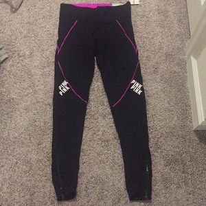 Pink Victoria's Secret leggings small nwt